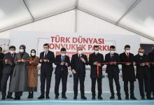 Iconic Turkic world monument replica erected in Turkey 10