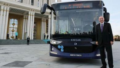 Erdogan tests Turkey's 1st driverless electric bus 29