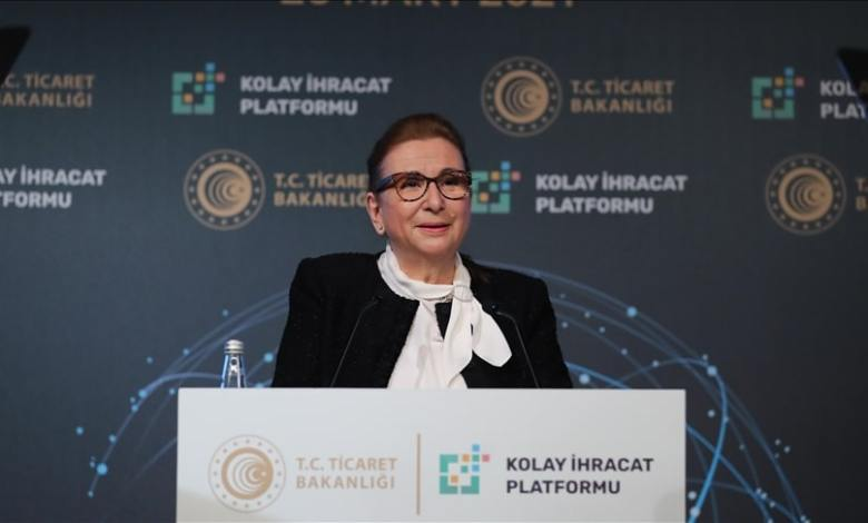Easy Export Platform will accelerate the growth of Turkey: Trade Minister Pekcan 1