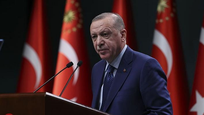 Turkey to continue curfews to fight virus: President 1