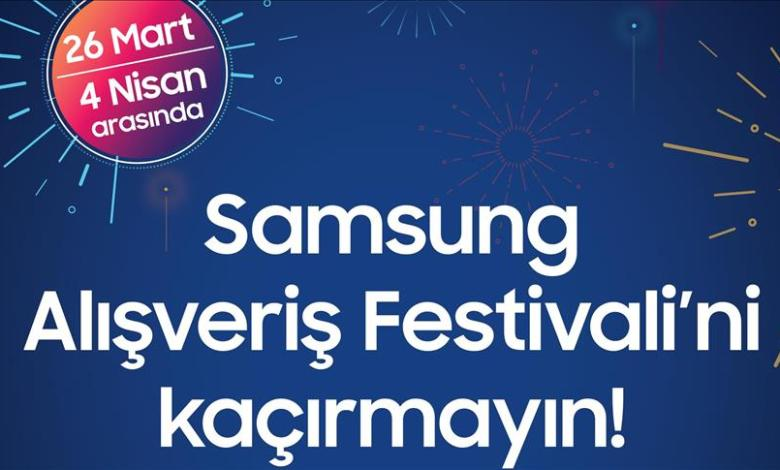 Samsung Shopping Festival has started in Turkey 1
