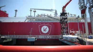 Turkey's first LNG ship Ertugrul Gazi arrived in Turkey 12