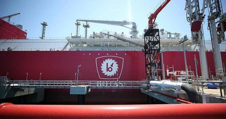 Turkey's first LNG ship Ertugrul Gazi arrived in Turkey 1