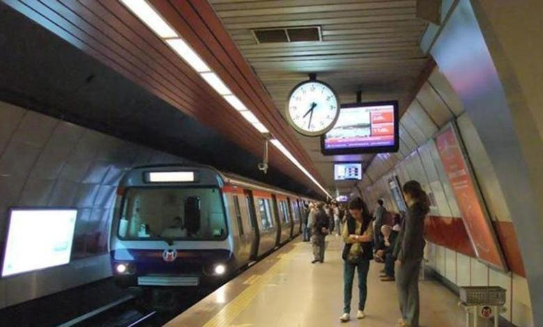New departure times from Istanbul Metro 8