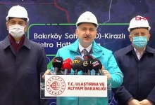 New metro line will be put into service in Istanbul in 2022 20