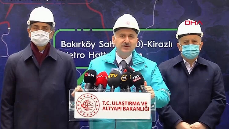 New metro line will be put into service in Istanbul in 2022 9