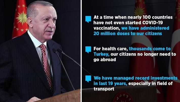 Turkey has managed record investments in last 19 years 1