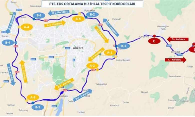Speedy highway is build around Ankara and Kirikkale 1