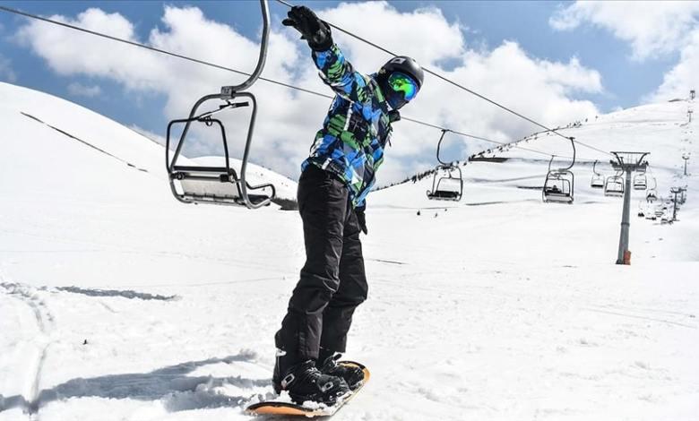 Season gets longer at 'ski center of the Mediterranean' Yedikuyular 1