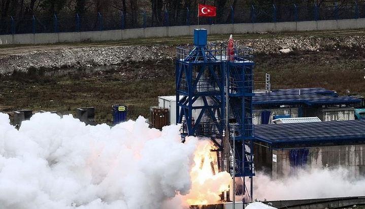 Turkey's hybrid engine for moon mission passes 1st test 1