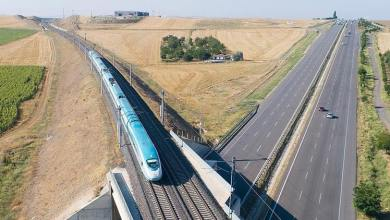 Turkey has become an important center in the international railway corridor 5