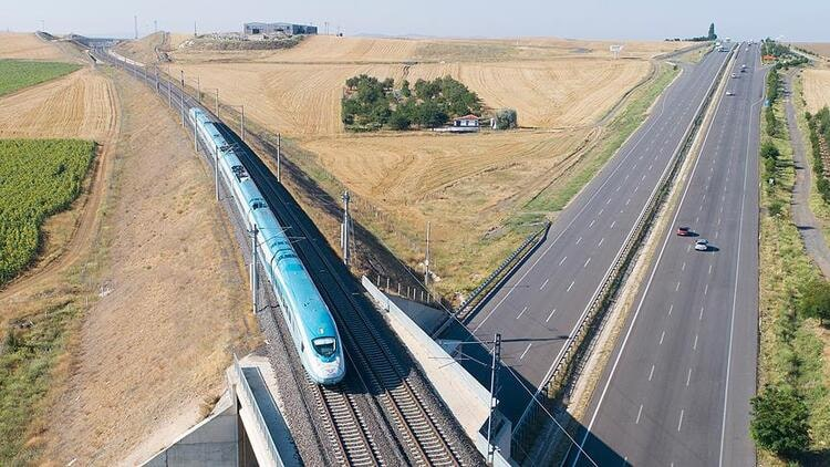 Turkey has become an important center in the international railway corridor 1