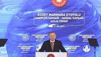 President Erdoğan Marks Completion of the North Marmara Highway 9