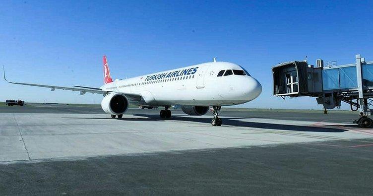 THY made its first flight to Turkistan 1
