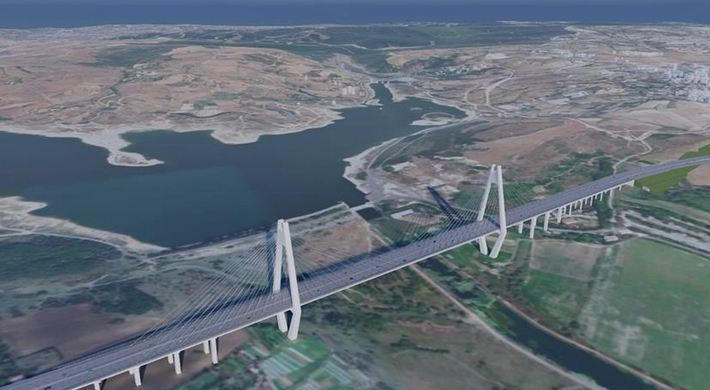 Details emerge of 1st bridge over Turkey's Canal Istanbul 1
