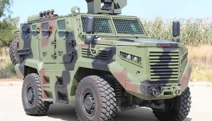 Turkey's armored vehicles make inroads in Africa 1