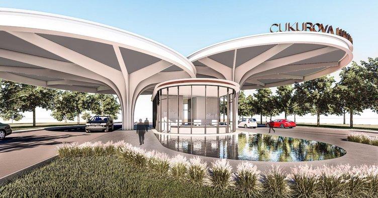 Both nature and environmentally friendly airport to Cukurova 1