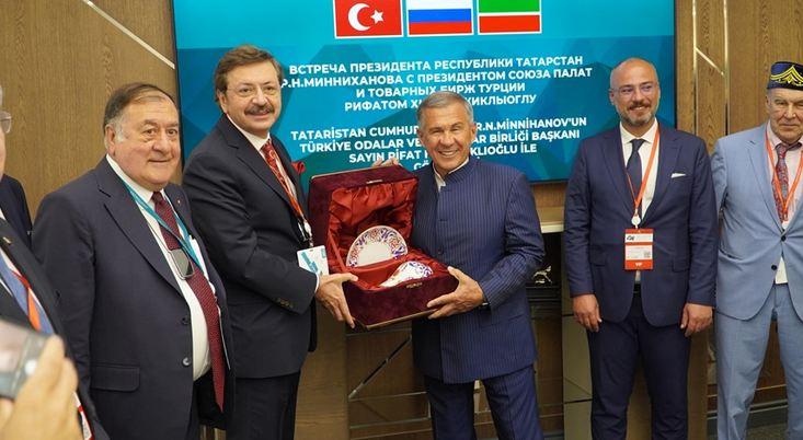 Tatarstan to be 'bridge' for Turkey to enhance trade ties with Russia 1