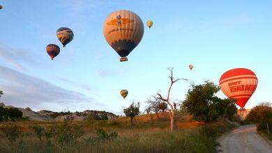 Hot air balloons soar into sky, herald festive season in Turkey's ancient Gobeklitepe 9