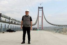 Minister of Transport gave information about the latest situation in 1915 Canakkale Bridge and Kanal Istanbul 3