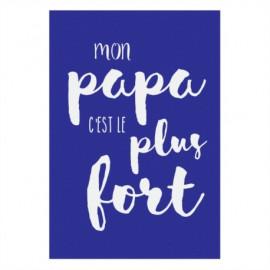 AchatVente Magnet Mon Papa Cest Le Plus Fort Derrire