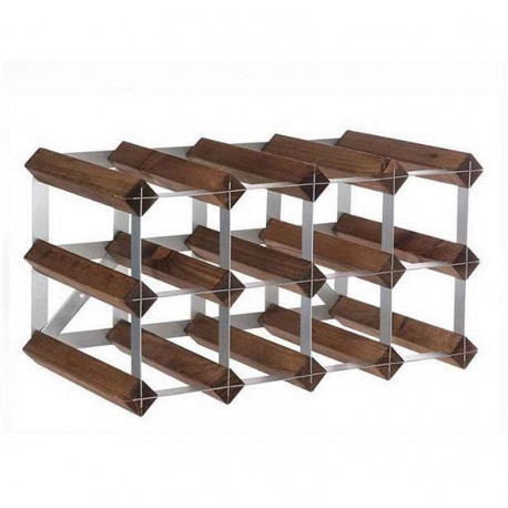 casier 12 bouteilles traditional wine rack