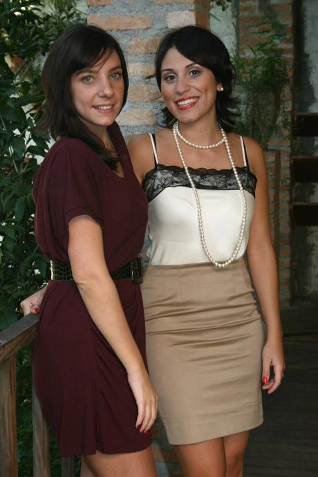 As criadoras do evento, Daniela Rymer e Mayra Alves