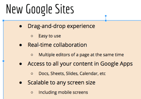 how to create a hanging indent on google docs app