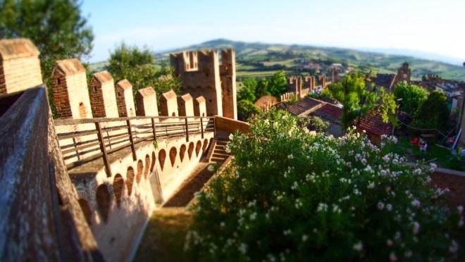 Gradara magic castle - le mura