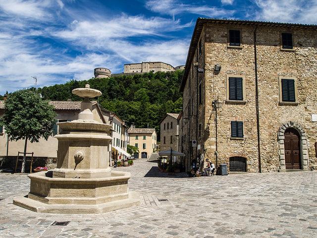 San Leo – il borgo