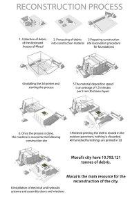 Mosul Concorso Riqualificazione Urbana - Tavola 2