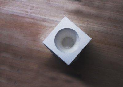 Vaso e porta oggetti - dall'alto