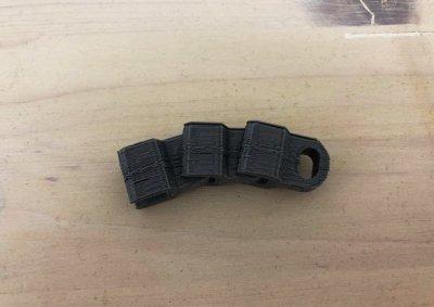 prova stampa maglie catena BB1 - stampa 3d