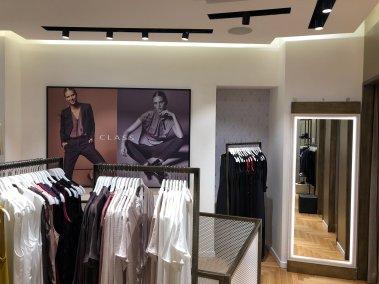 Progettazione negozio di abbigliamento Class - Zona camerini