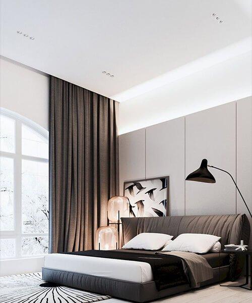 tendaggi per la camera da letto