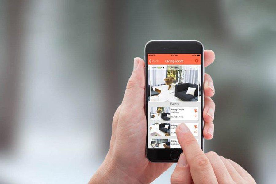 smart home controllo da smartphone