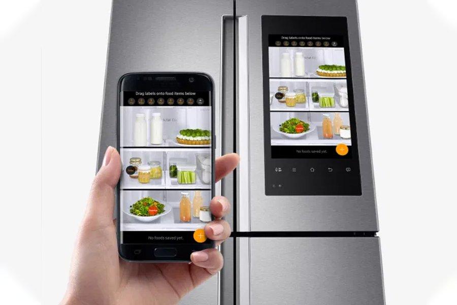 frigorifero smart - elettrodomestici controllati a distanza