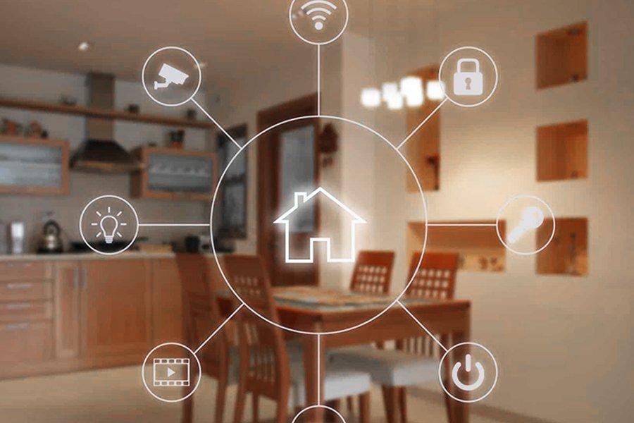 smart home e domotica - grafica