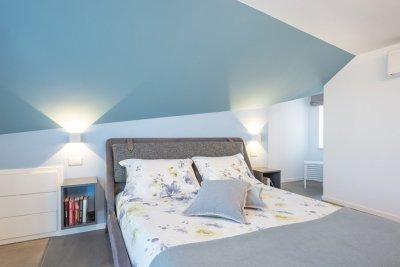 camera da letto effetti di colore