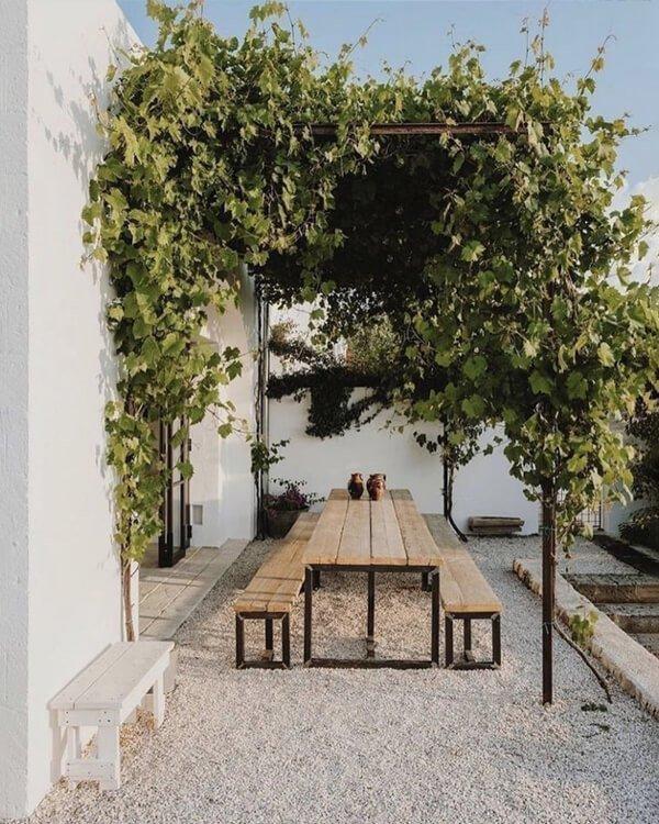 pergolato o tettoia tradizionale