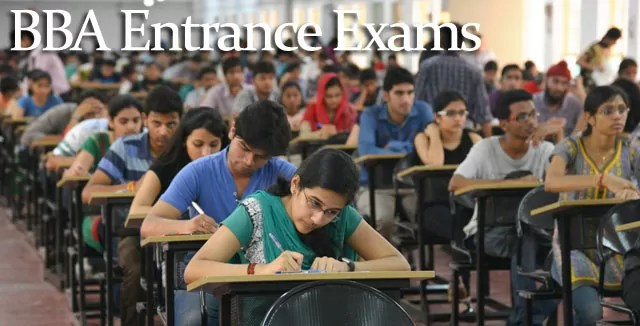 BBA Entrance Exams