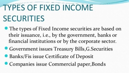 Income from Fixed Income Securities and Stocks