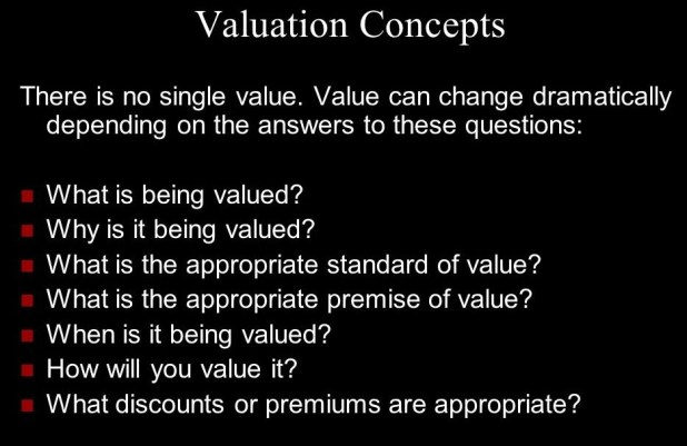 Valuation Concepts
