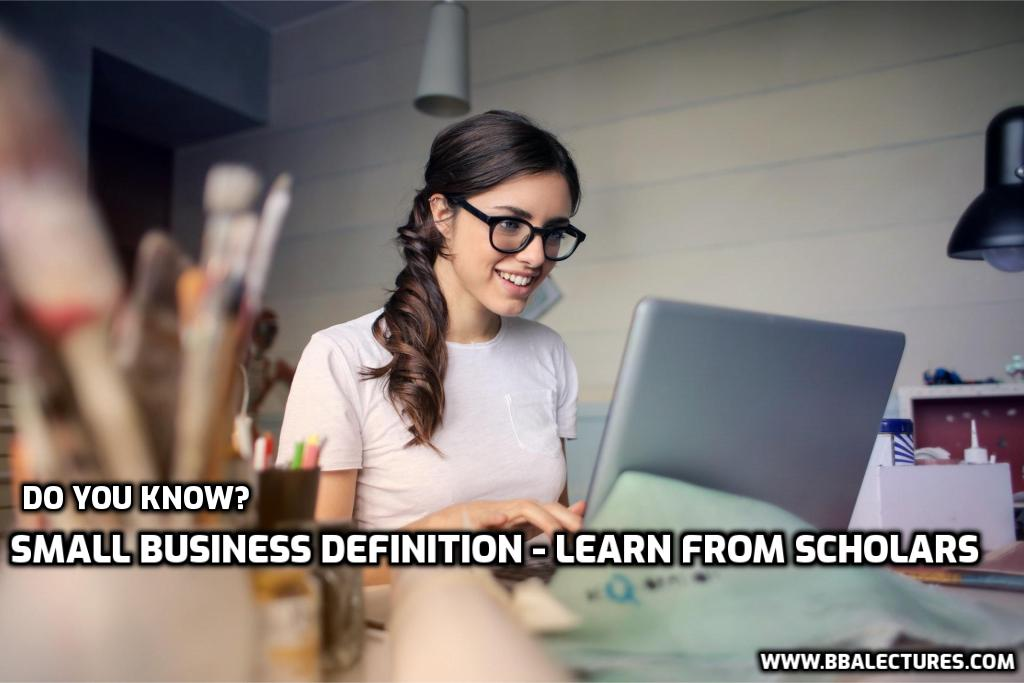 Small Business Definition