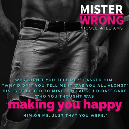 Image result for mister wrong nicole williams