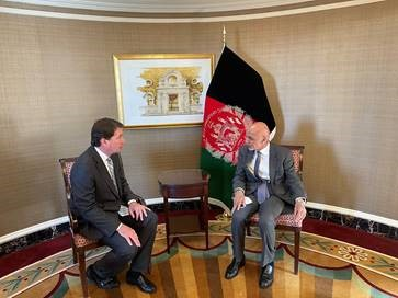Hagerty Meets with Afghanistan President