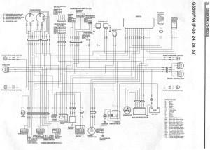Wire Diagram  GS500F  06