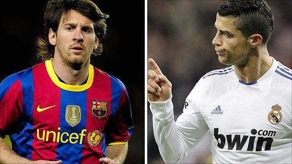 Messi i CR7, els jugadors insígnia del Barça i del Madrid, s'enfrontaran el proper dilluns