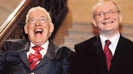 Ian Paisley & Martin McGuinness