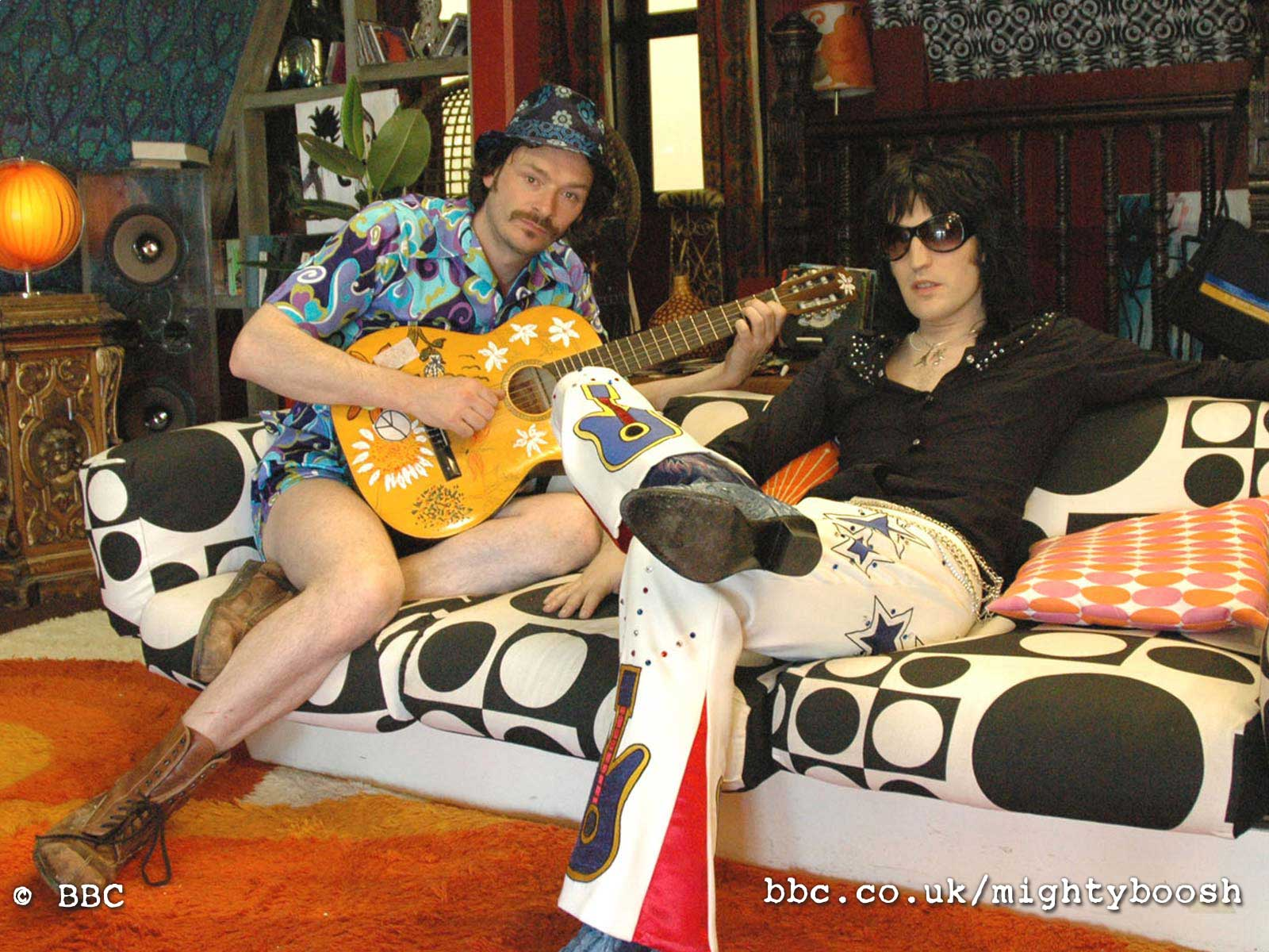 The Mighty Boosh: Wallpapers